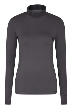 Keep The Heat Womens Turtle Neck Top