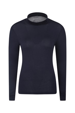 031457 KEEP THE HEAT ISOTHERM WOMENS ROLL NECK TOP