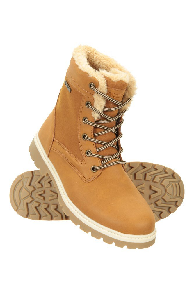 Womens Casual Waterproof Boots