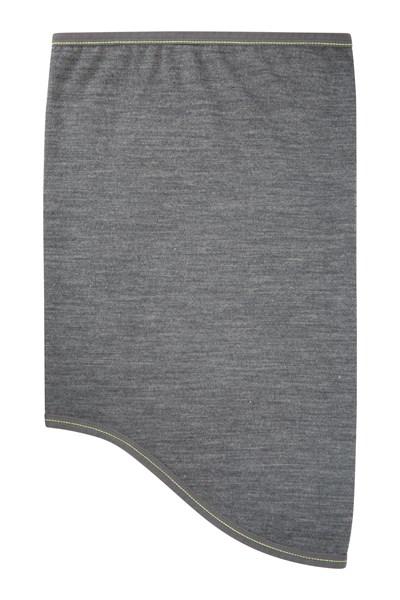 Lightweight Mens Merino Neck Gaiter - Grey