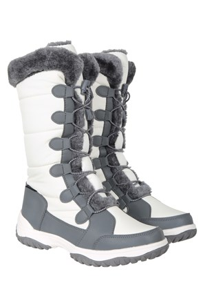 Snowflake Womens Long Snow Boots