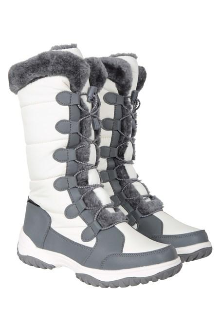 031472 SNOWFLAKE WOMENS LONG WATERPROOF SNOWBOOT