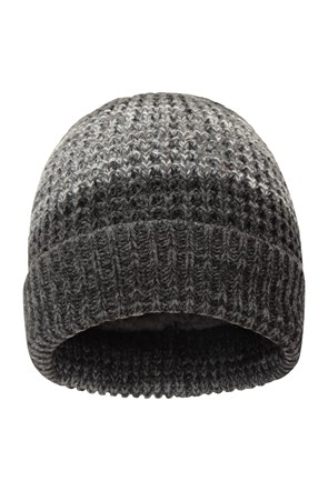 Two-Tone Melange Mens Beanie