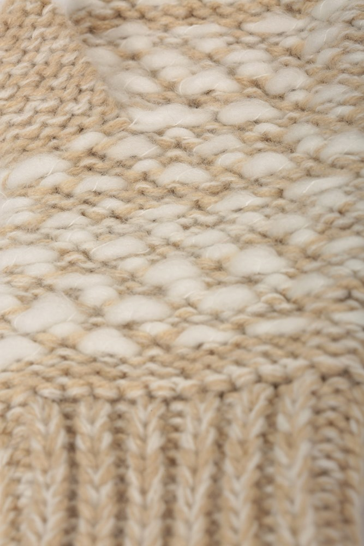 Mountain Warehouse Wms Patterned Fingerless Knitted Womens Mitten Gloves