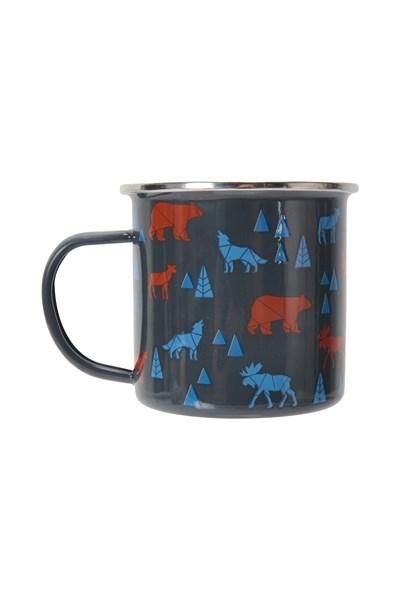 Animals Enamel Mug - Navy