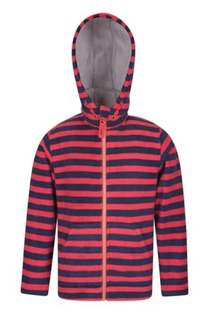 Aviemore Kids Striped Fleece Hoodie