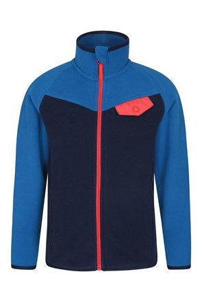 Vesuvius Kids Contrast Fleece