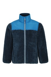 Blast Borg Kinder Fleece-Jacke