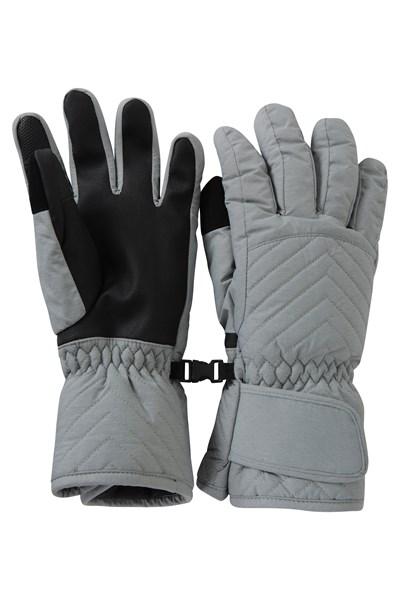 Arctic Mist Womens Ski Gloves - Grey