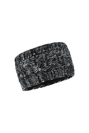 Wide Speckle Knitted Headband