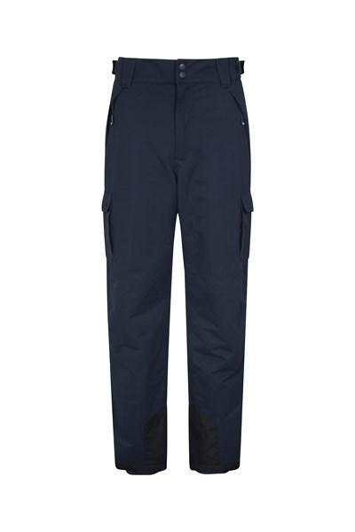 Luna II Mens Snowboarder Pants - Short Length - Navy