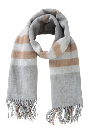 Check Womens Blanket Scarf