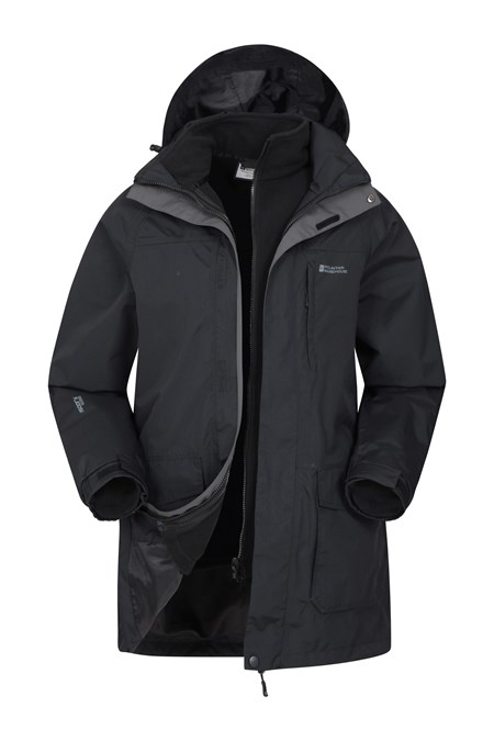 031586 GLACIER LONG 3 IN 1 WATERPROOF JACKET