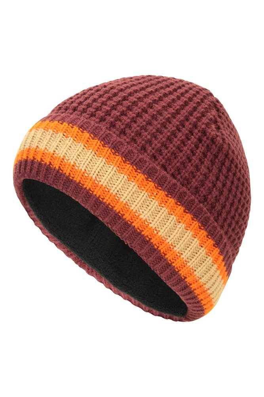 Mountain Warehouse Men Textured Beanie Winter Hat