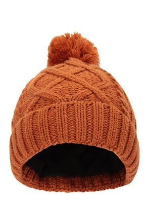 Heavy Cable Mens Beanie
