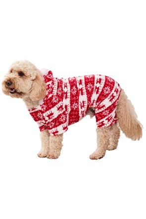 Fair Isle Hundepullover - Medium