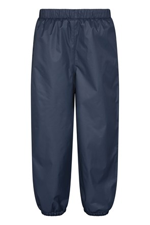 Waterproof Fleece Lined Kids Trousers