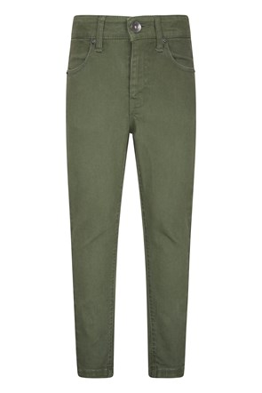 Kids Stretch Casual Trousers