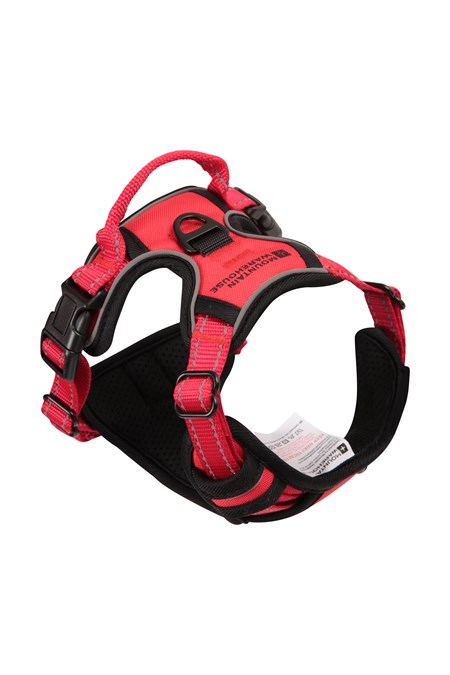 031634 DOG REFLECTIVE PADDED HARNESS SML