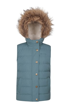 Forest Kids Sherpa Lined Gilet