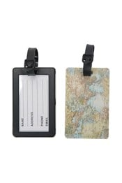 Patterned Luggage Tags - 2 Pack