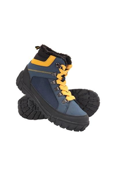 Venture Kids Boots - Navy