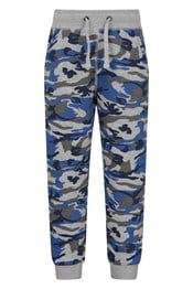 Athletic Printed Kids Tracksuit Bottoms