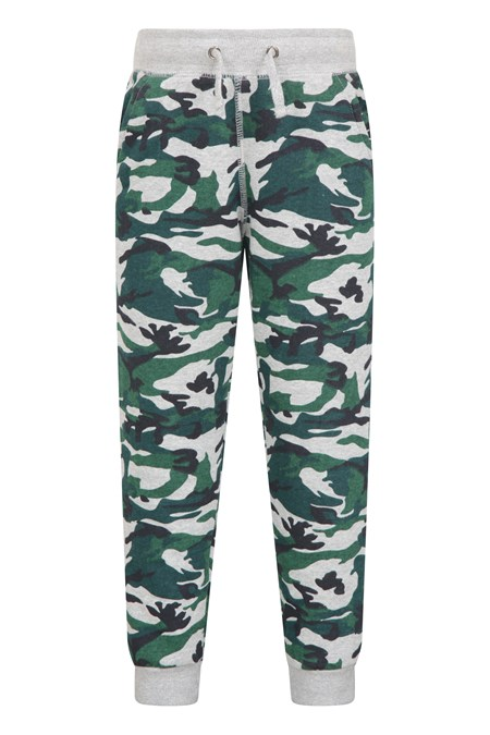 031760 KIDS PRINTED COSY LINED JOGGER