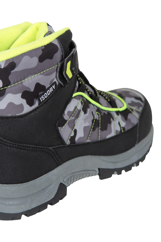 Mountain Warehouse Kid Camo Waterproof Kids Boot