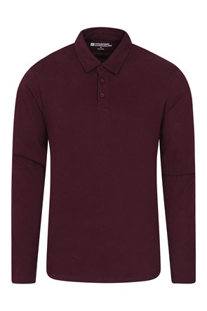 Long Sleeves Mens Polo