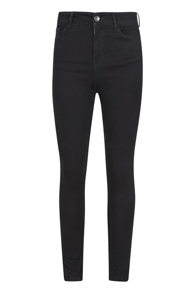 Casual Womens Stretch Trousers - Grey
