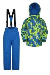 Kinder Skijacke & -hosen Set