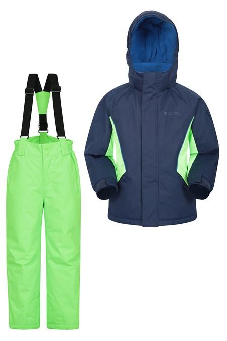 Ultrasport Pantalon de ski pour enfants en violet ou en noir Pantalon snowboard pour filles et gar/çons Pantalon sports d/'hiver enfants avec bretelles