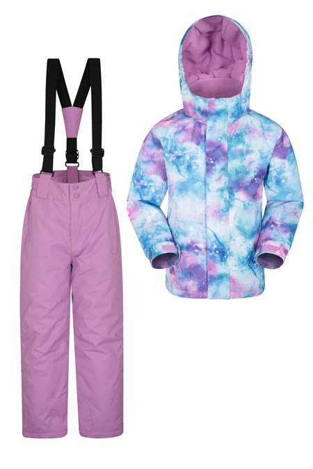 031805 KIDS SKI JACKET AND PANT SET