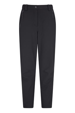 Softshell Womens Trousers - Short Length