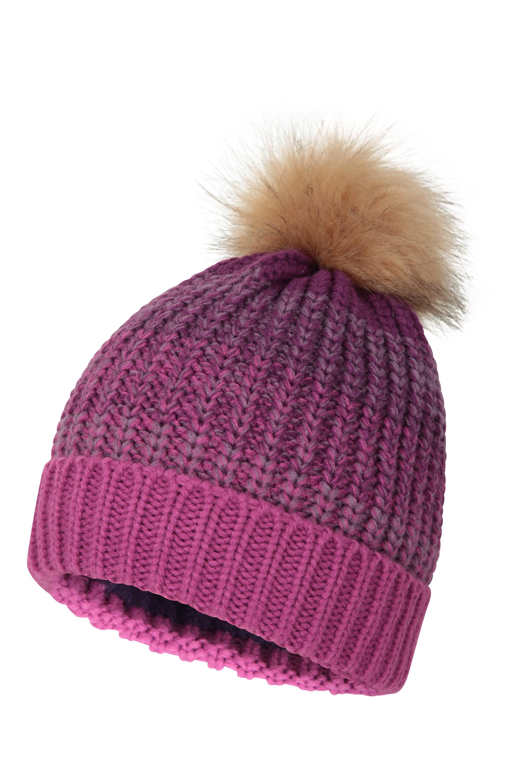 Mountain Warehouse Wms Chenille Womens Pom Beanie Winter Hat