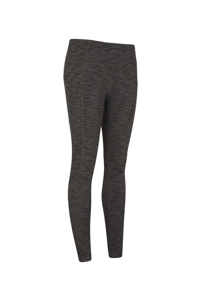 Mountain Warehouse Wms  Speed Up Womens Cycle High Waisted Capri Legging In Blue