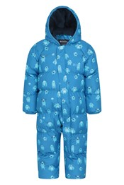Frosty Printed Junior Padded Suit