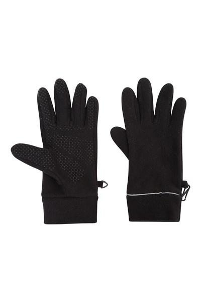 Thermal Womens Fleece Gloves - Black
