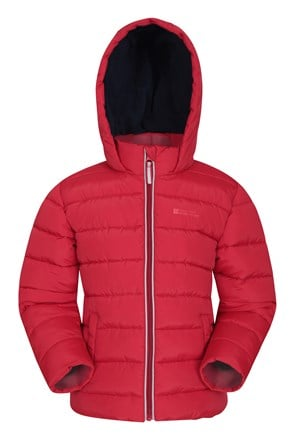 Eden Fleece Lined Kids Padded Jacket