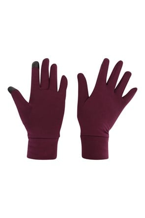 Touch Screen Womens Liner Gloves
