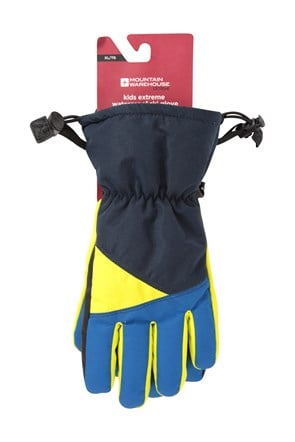 Extreme Waterproof Kids Ski Gloves