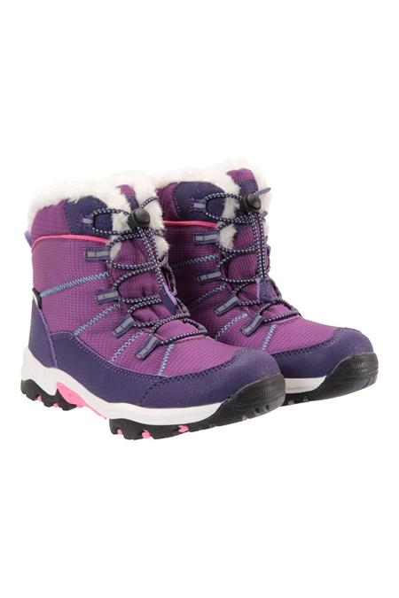 031942 COMET KIDS WATERPROOF SNOWBOOT