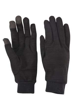 Merino Mens Liner Gloves