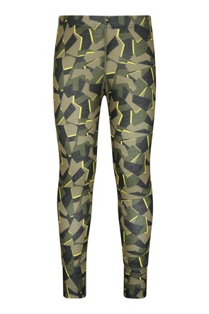 Talus Kids Printed Baselayer Pants