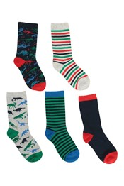 Character Kids Ankle Socks - 5 Pack