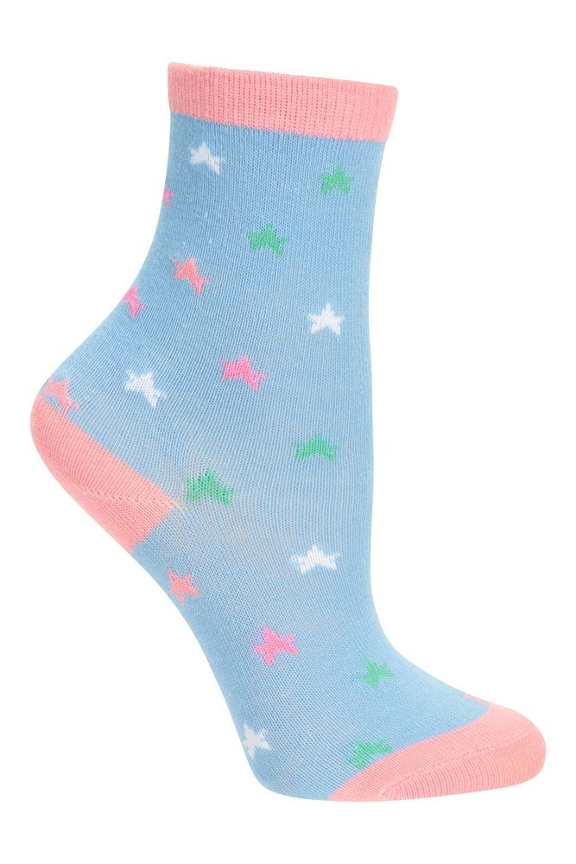 5 Pack Girls Shoe Socks Lightweight Boys Everyday Sneaker Socks School /& Travelling Best for Sports Mountain Warehouse Character Kids Ankle Socks Warm /& Cosy