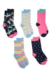 Character Kids Ankle Socks Multipack