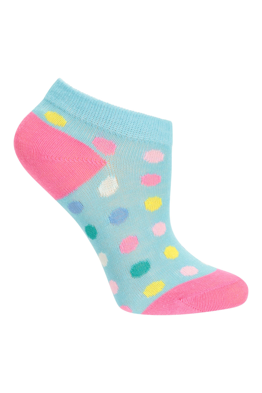 Mountain Warehouse enfant personnage Kids Trainer Socks 5Pk