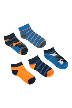 Character Kids Trainer Socks - 5 Pack